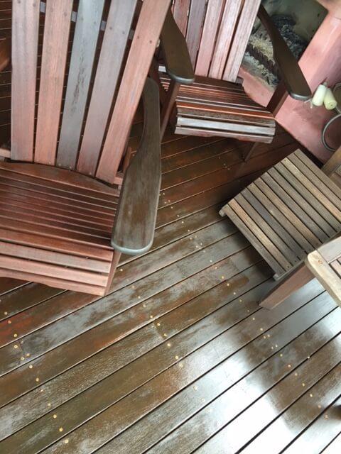Full Circle Refinishing - Before Timber Maintenance