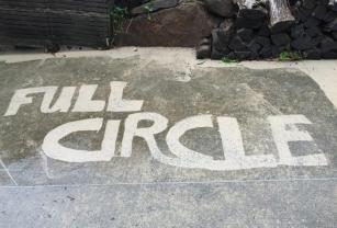 Full Circle Refinishing - Full Circule on Cement