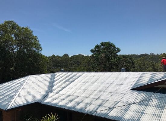 Full Circle Refinishing - House Roof Painting Before