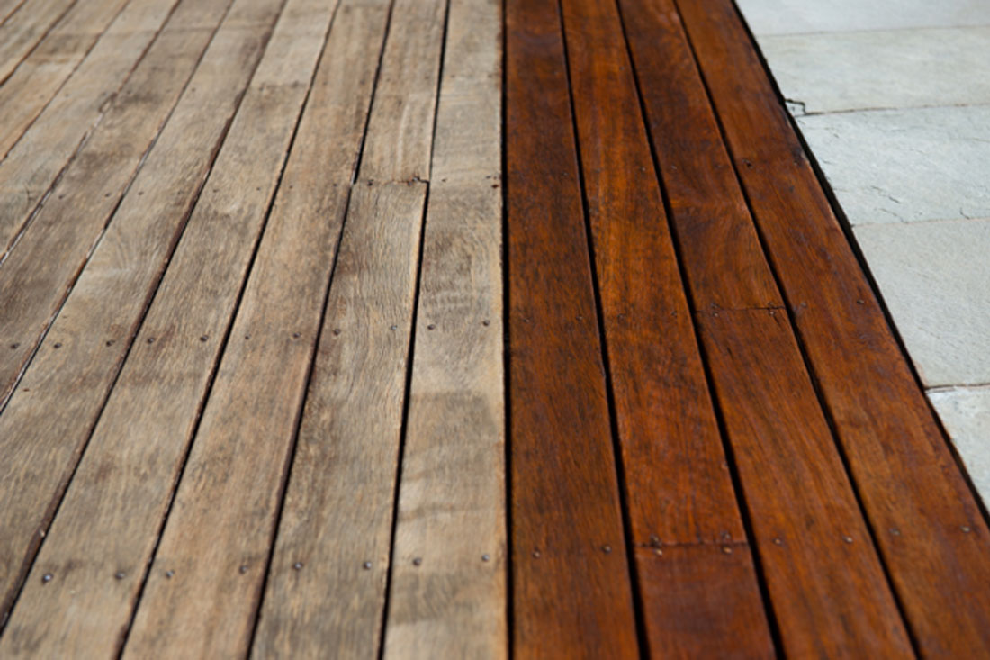 Deck Maintenance Layer Coating example